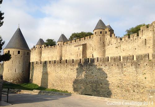Carcassonne Mauer