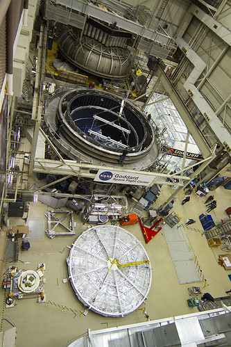 High Angle View of NASA Goddard Test Chamber