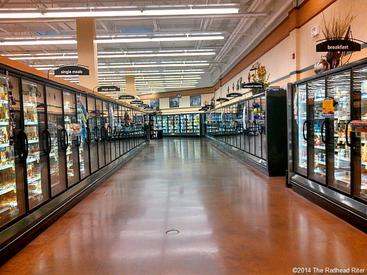 grocery store empty aisle grain free food