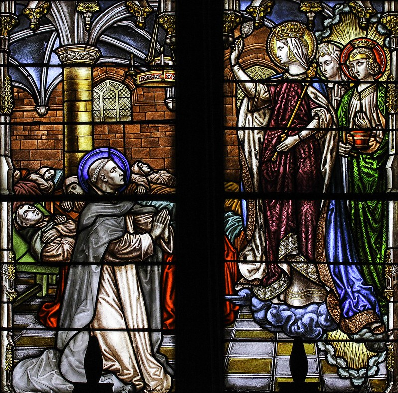 Our Lady Blessing the Sleeping Friars
