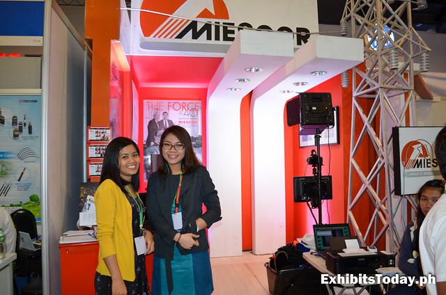 Miescor Exhibit Stand
