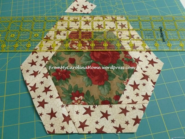 Christmas Hexagonal Table Topper 11