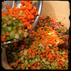 #Homemade #Bolognese Sauce - then the #carrots & #celery