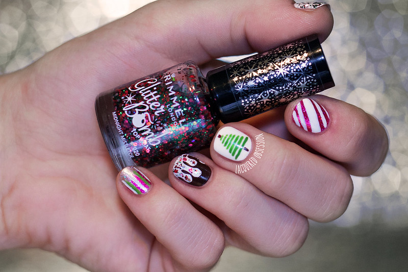 Prvá adventná nedeľa a guest post u Nails Maniac / First Sunday of Advent Guest Post At Nails Maniac