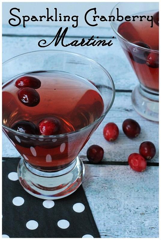sparkle martini