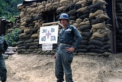 Captain Berninger ved 3rd Battalion Aid Station (1952)