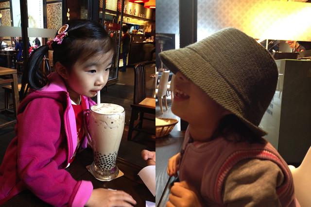 飲料是我的,帽子也是我的耶!