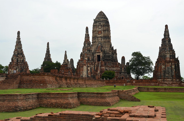 Wat Ratchaburana, en mi opinión el templo más espectacular de Ayutthaya de estilo camboyano
