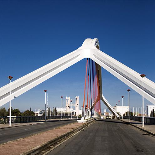 Puente de la Barqueta, Sevilla, by jmhdezhdez