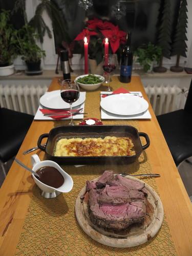 Abendessen am Heiligen Abend