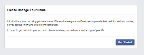 facebook note--seriously Facebook? I do more business and have a larger circle on this than most people... tell me its not real.  Grrr