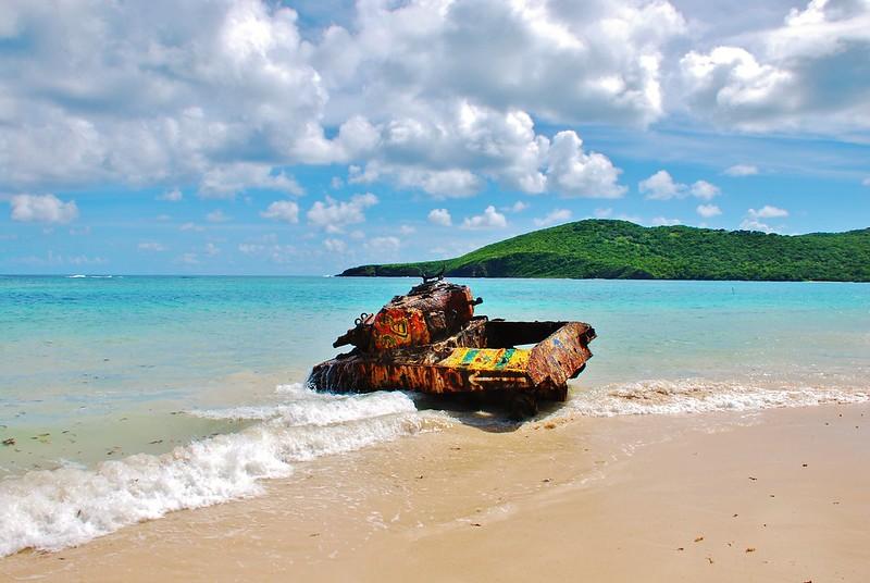 Tanque en Culebra