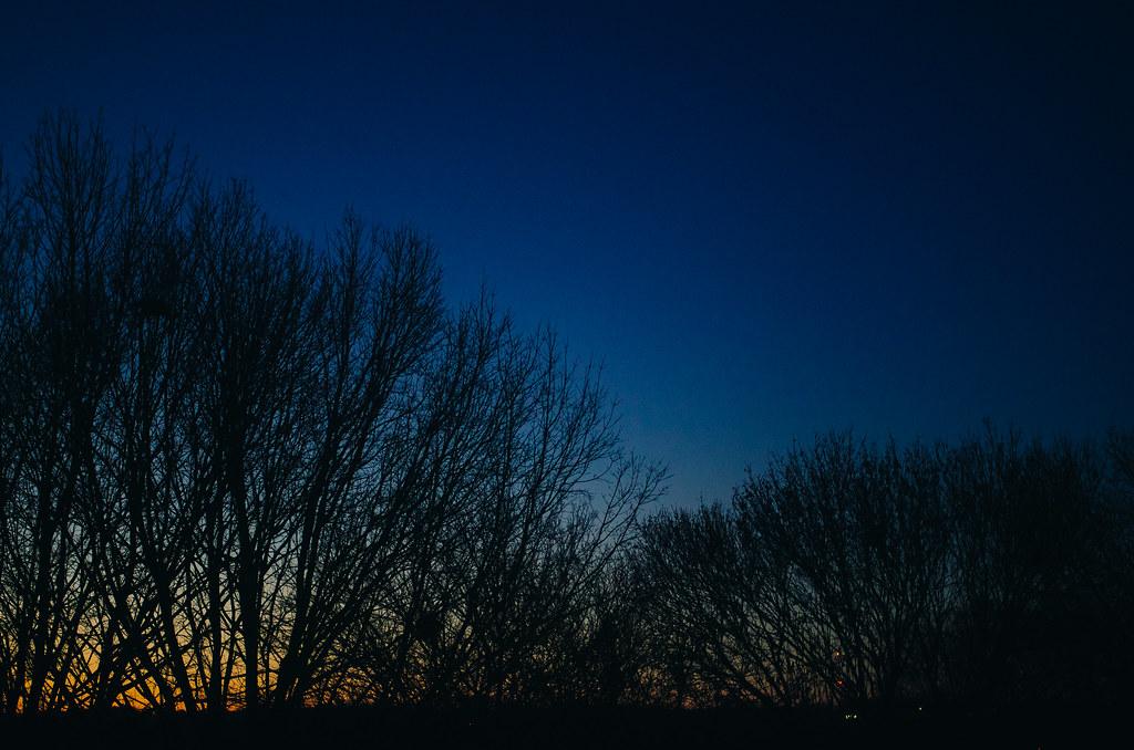 Evening Iowa Sky
