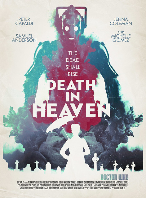 Doctor Who: Death in Heaven Retro Poster