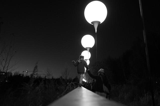 elisachris - Lichtgrenze (Berlin Wall)