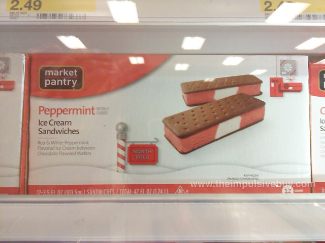 Market Pantry Peppermint Ice Cream Sandwiches