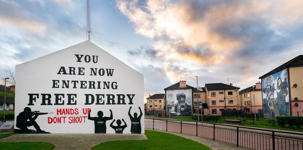 Free Derry corner, Northern Ireland picture