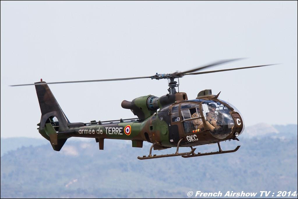 Gazelle, hélicoptère,Sud-Aviation, Meeting des 60 ans de l'ALAT,Aviation légère de l'armée de Terre (ALAT), Cannet des Maures