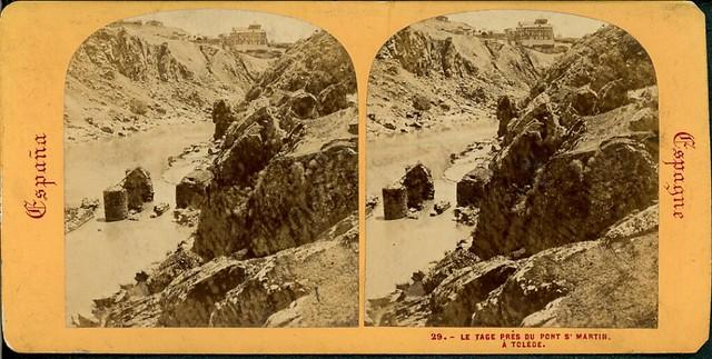 Fotografía Estereoscópica de Lamy. Molinos y Roca Tarpeya