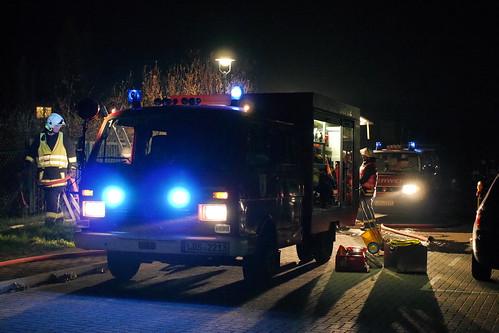 Einsatzübung Freiwillige Feuerwehr Ragow #4