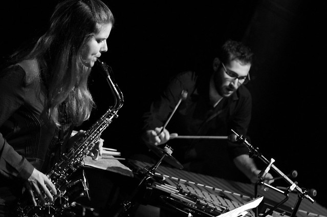 IN KEYS - SAX & PERCUSSION DUO - TEATRO EL ALBÉITAR - 30.10.14 LEÓN