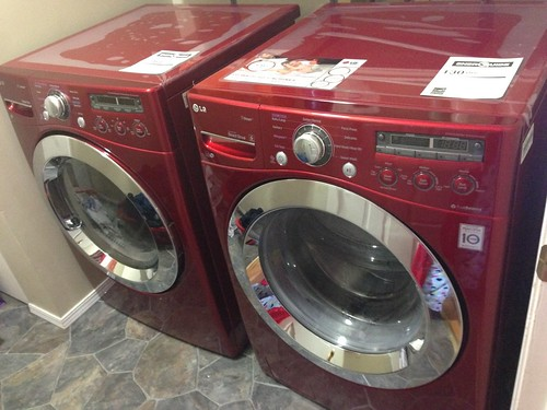New washer & dryer combo
