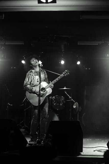 Patrick 水沼 live at 獅子王, Tokyo, 20 Jan 2015. 019