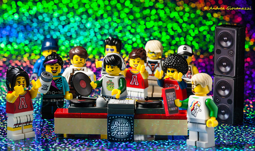 Lego DJ in Action 5