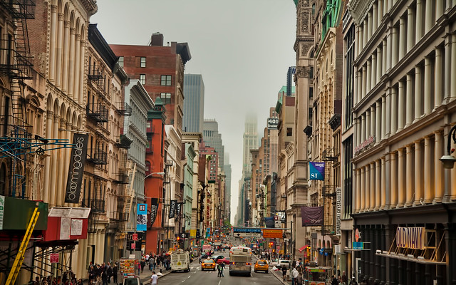 The Shopping District in SoHo, New York City | Flickr ...