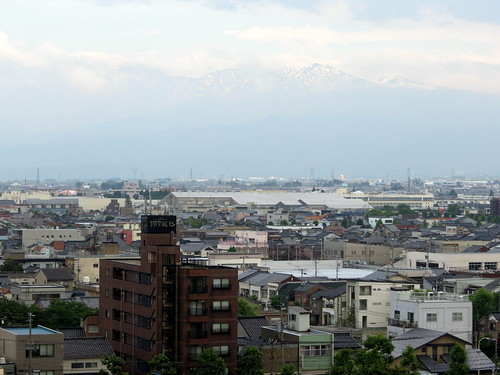 Toyama - view from my friend's house!