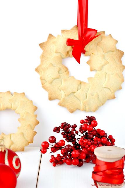 ghirlande di Natale con frollini vaniglia6