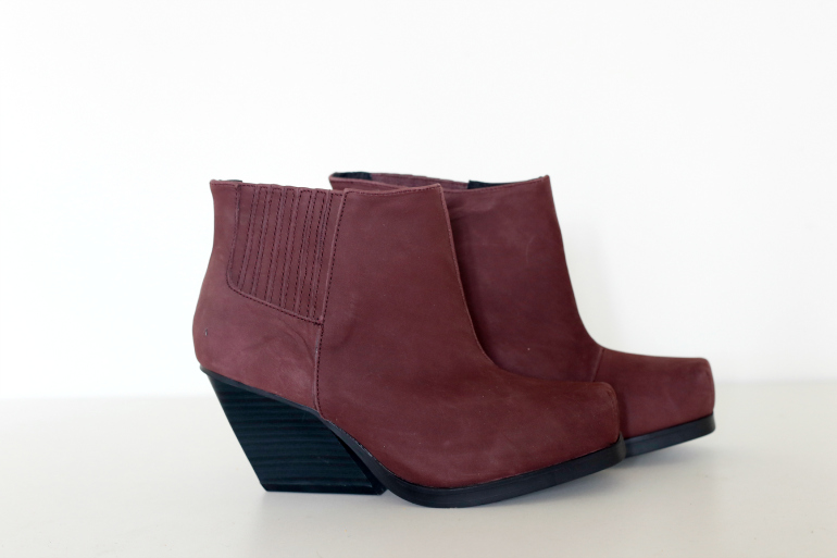 cheap monday donkerrode western laarzen