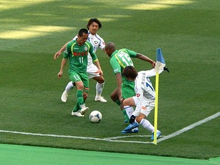最後まで攻撃の手を抜かず、細かく繋ぎながらゴールを目指していく。