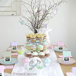 Sugared Almond Easter table