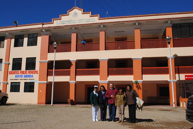 04/11/14 Gira municipal en San Pedro y San Pablo Ayutla Mixes