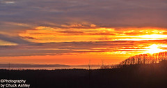 Sunset Over The Knik Arm W_8619