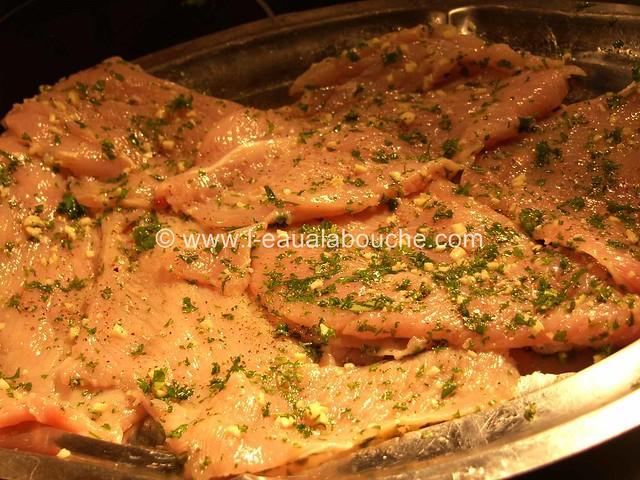 Escalopes de Dinde à Milanaise © Ana Luthi Tous droits réservés