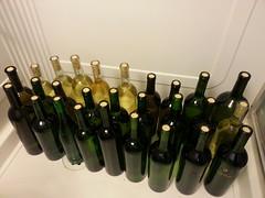 Bottled wine!