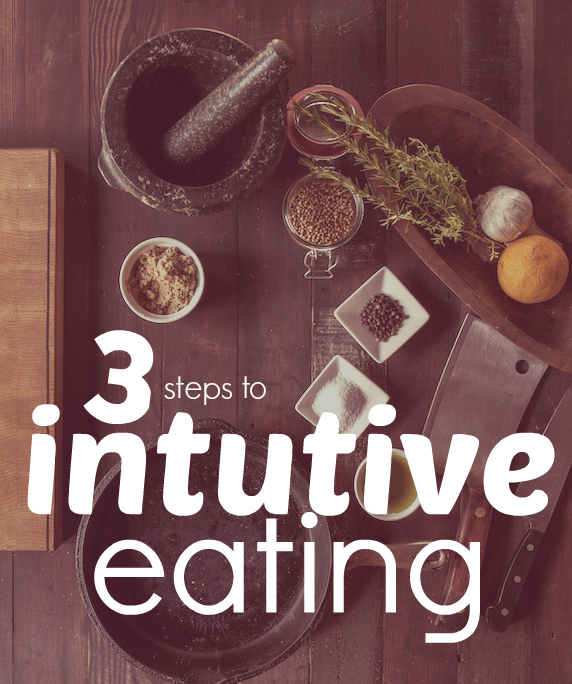 3 easy tips to being eating intuitively - learning to understand your hunger