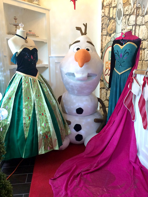 Anna and Elsa Frozen Dresses at U Can Cook