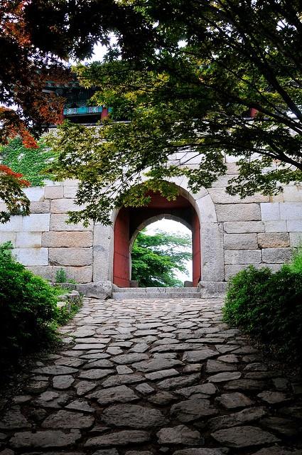 East Gate on Geumjeongsan
