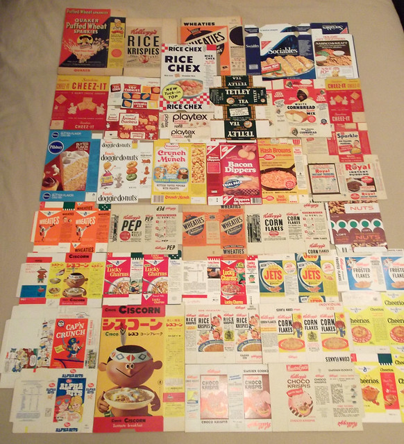 Pneumatic Scale Find Cereal Boxes 2014