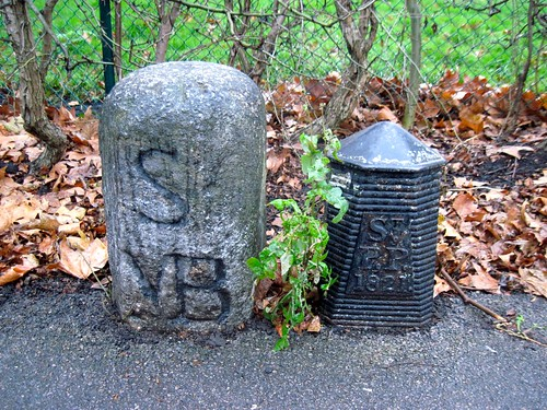 London Parish Boundary Markers