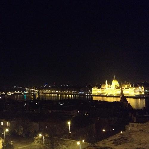 Прощаемся с Будапештом, завтра в путь! #будапешт