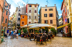 Colourful Rovinj