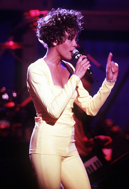 Whitney Houston in 1991