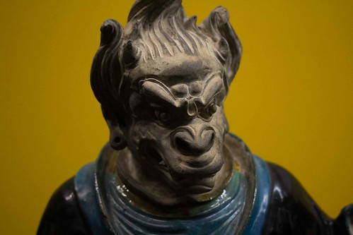 Chinese Sculpture Royal Ontario Museum 2014-15 Toronto Family Vacation Birthday Party December 28, 2014 47