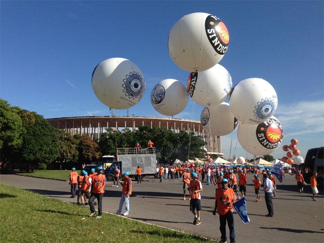 7ª Marcha da Classe Trabalhadora em Brasília