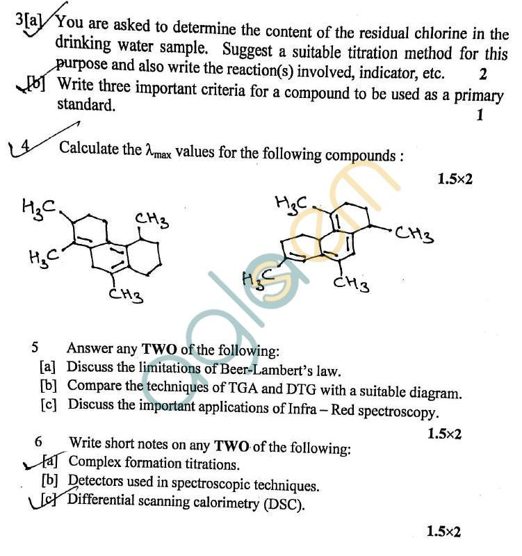 DTU: Question Papers 2012 – 1 Semester - Mid Sem - AC-104