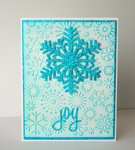 Merry Monday Christmas Challenge: Merry Monday #140 {Snowflakes} & The 12 Months of Christmas Link Up!